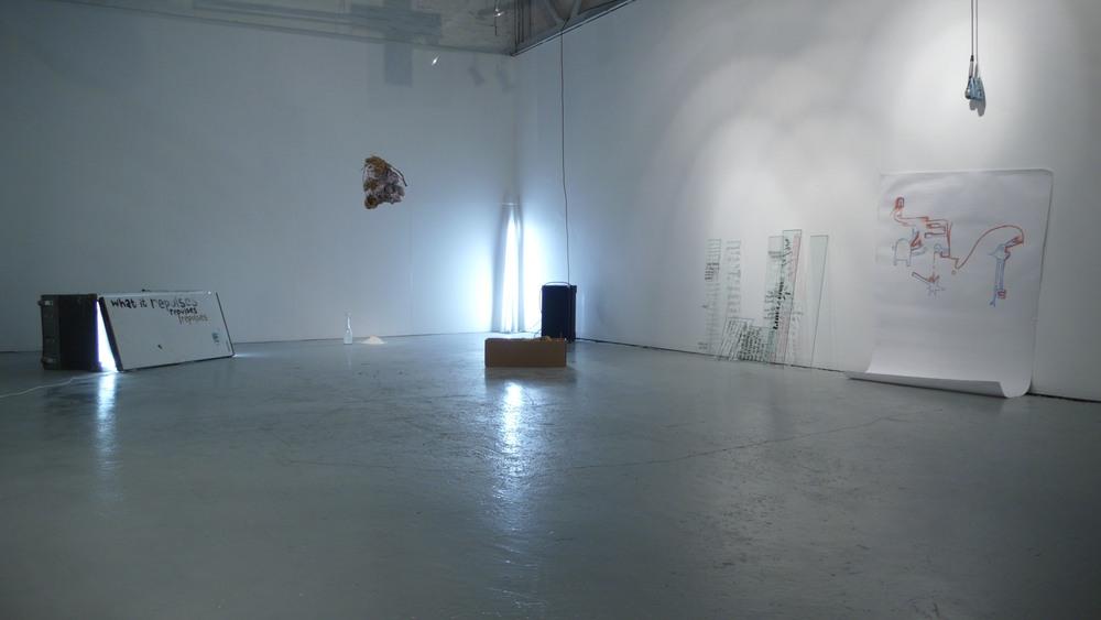 I Still Make Myself (sic),InFlight Gallery, Hobart. 2008
