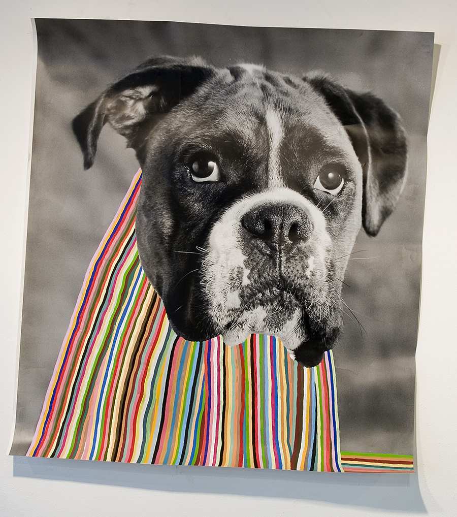 Self portrait as dog