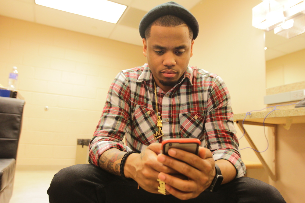 Mack-Wilds-The-Breaks-Wemadeit-new-york-bedford-flannel-cargo-beanie-tristan-wilds