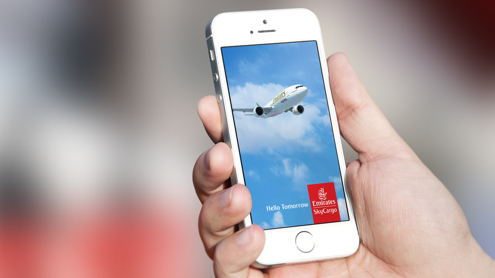 Cargo tracking mobile app for Emirates Sky Cargo