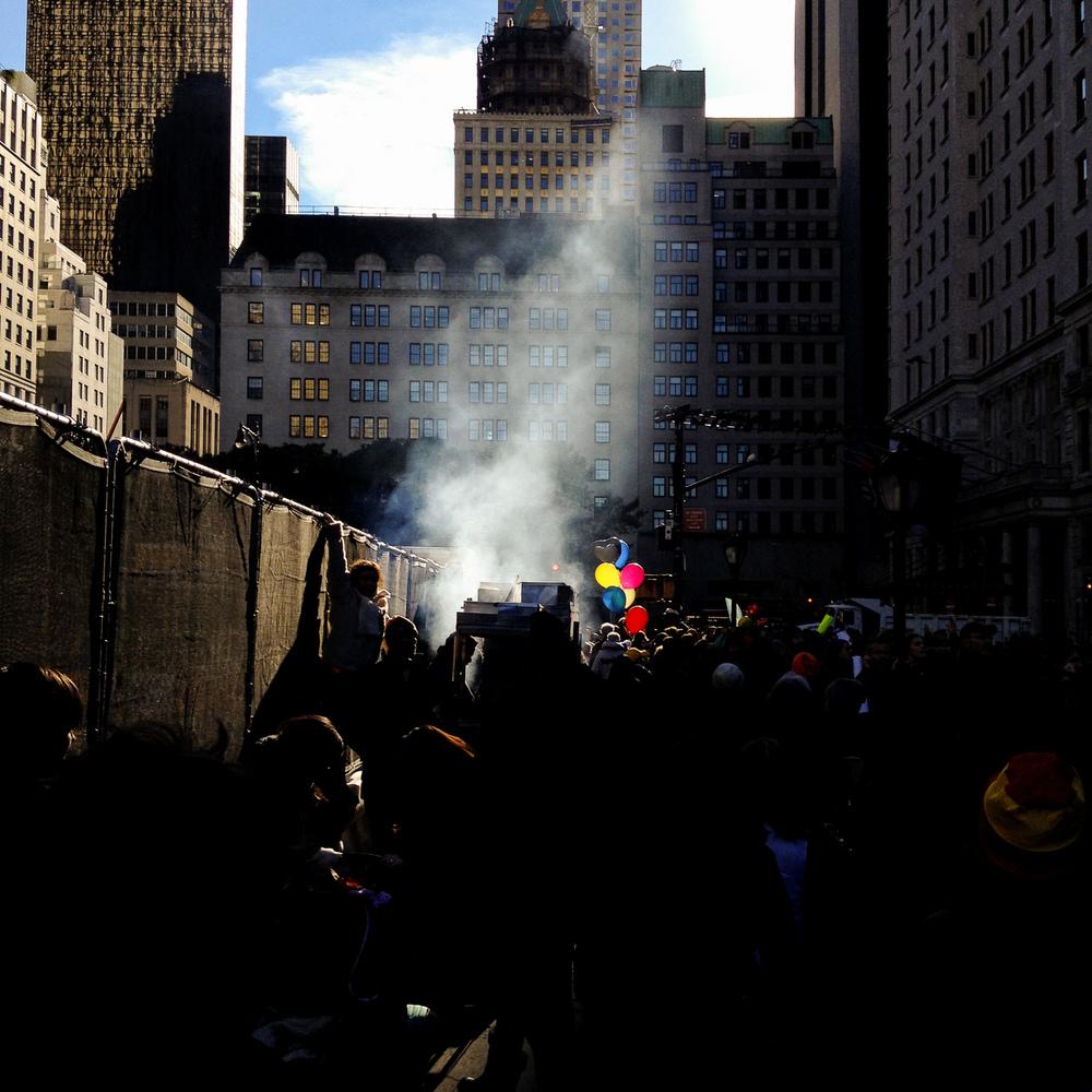 Marathon day, New York