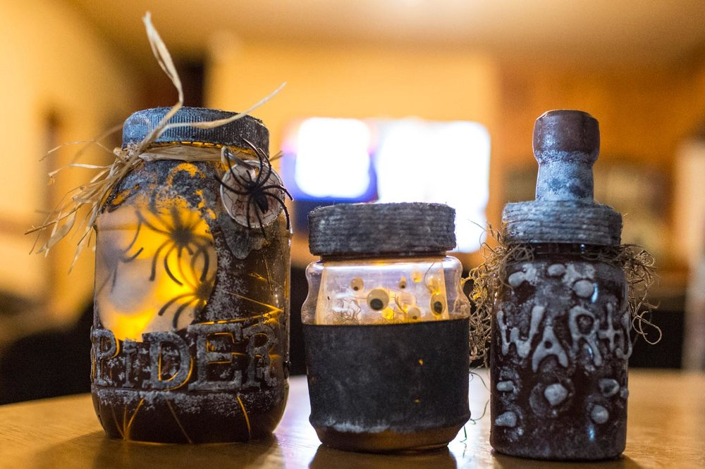 WITCHES' POTIONS BOTTLES