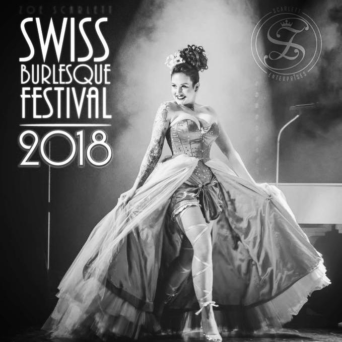 2018 - Das zweite Swiss Burlesque Festival fand ende September 2017 im Häbse Theater in Basel statt