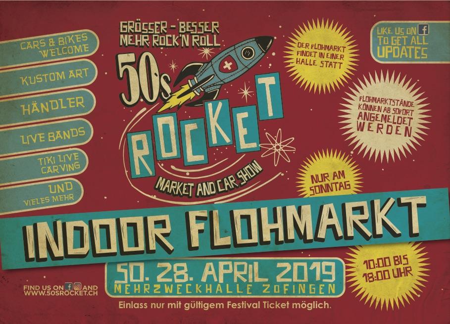 50s rocket 2019 flohmarkt