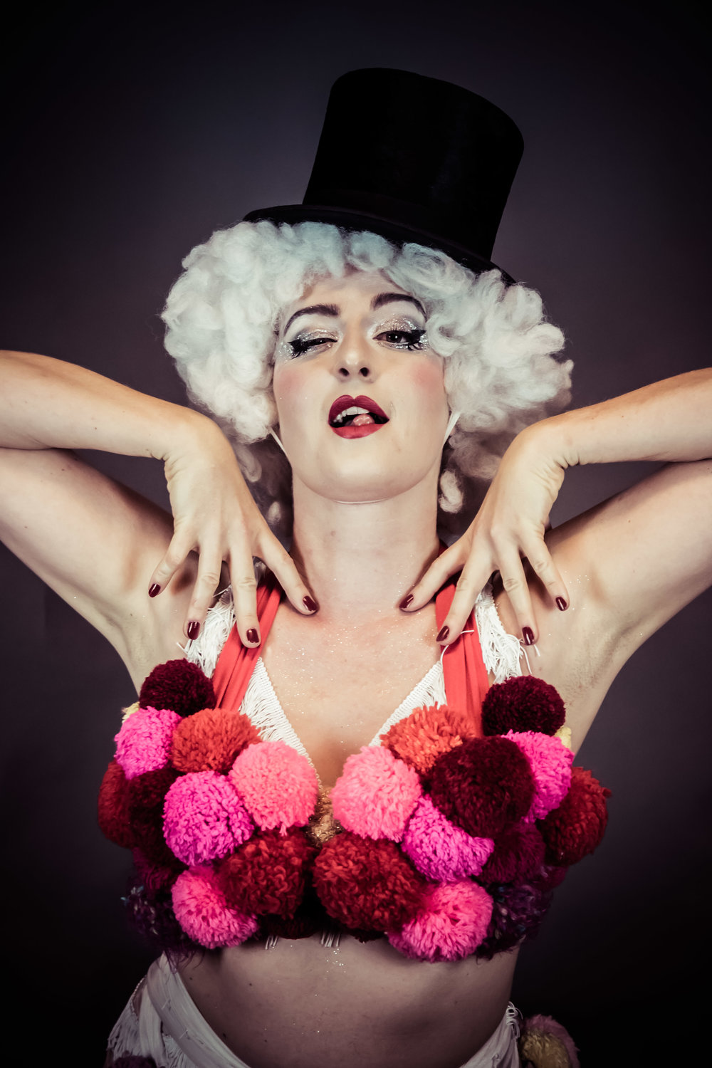 3rd Swiss Crown of Burlesque 2018 - Lulu Applecheeck - Switzerland