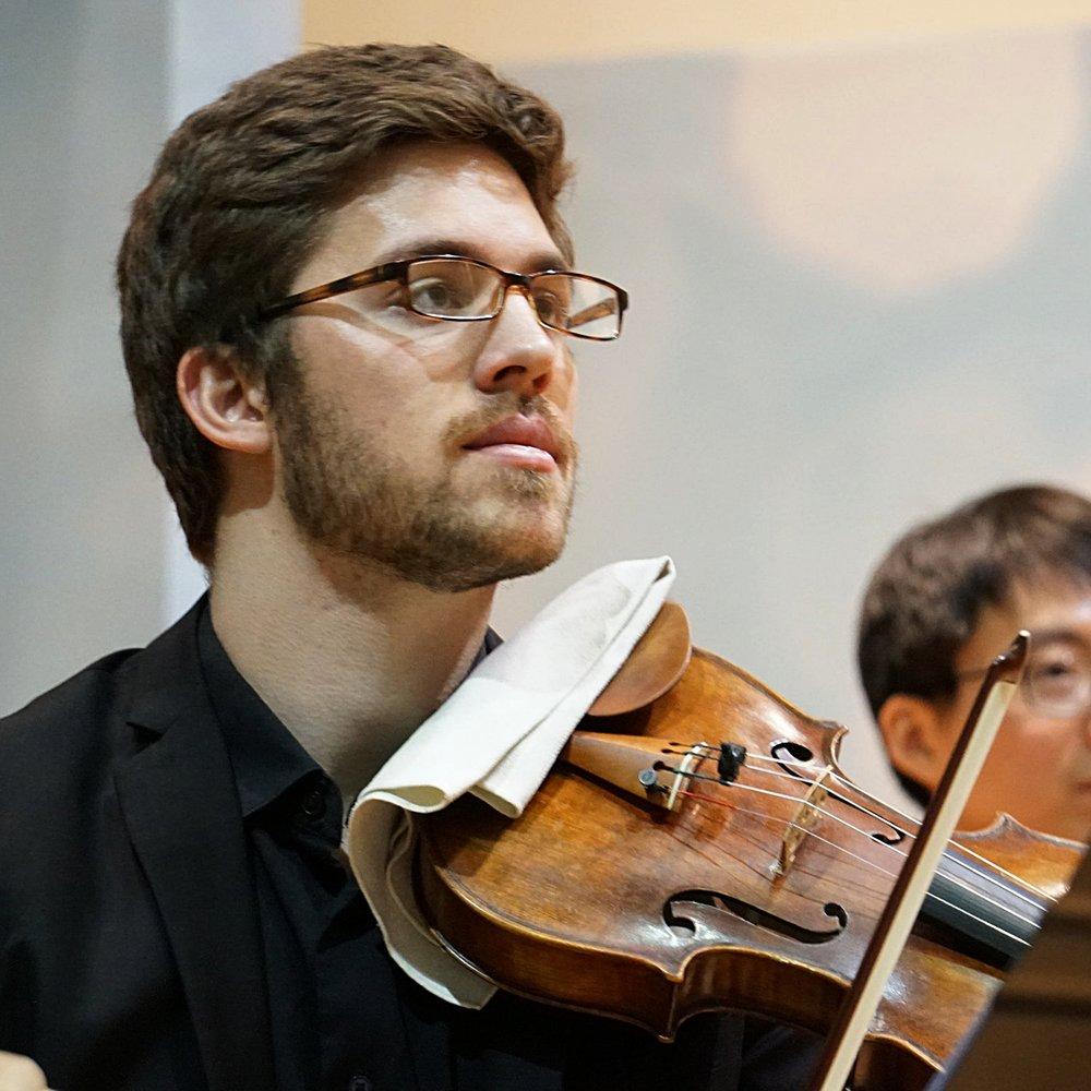 Stephen Tavani violin