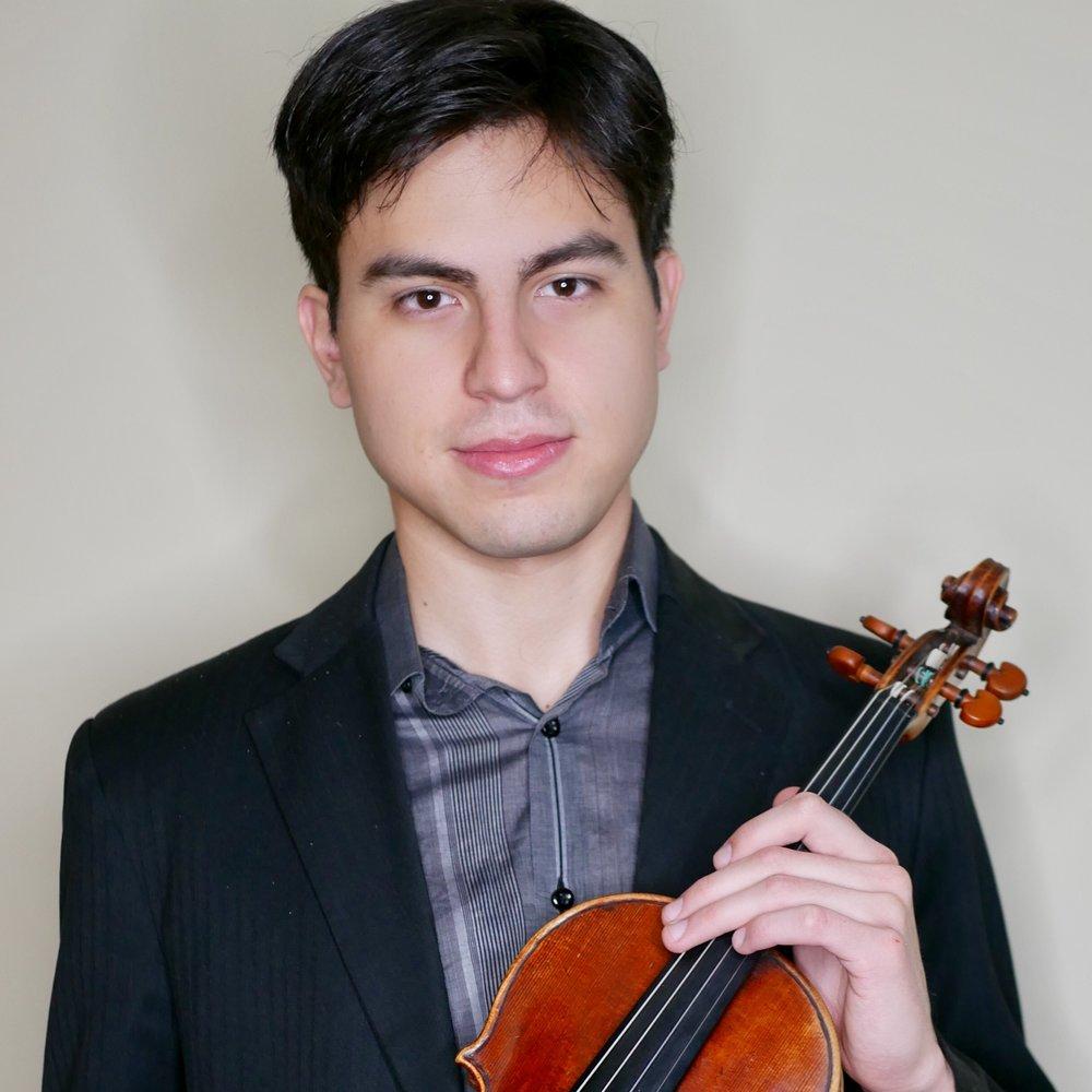 Jeremías Sergiani Velázquez violin