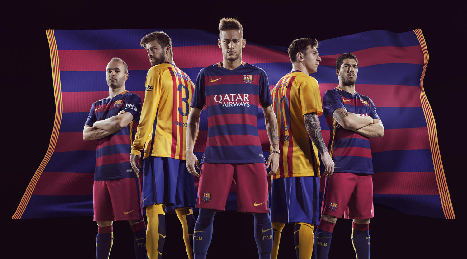 new arrival d4f72 9e8f3 More Than a Club: 2015/16 Barcelona Home & Away Kit — Soccer ...