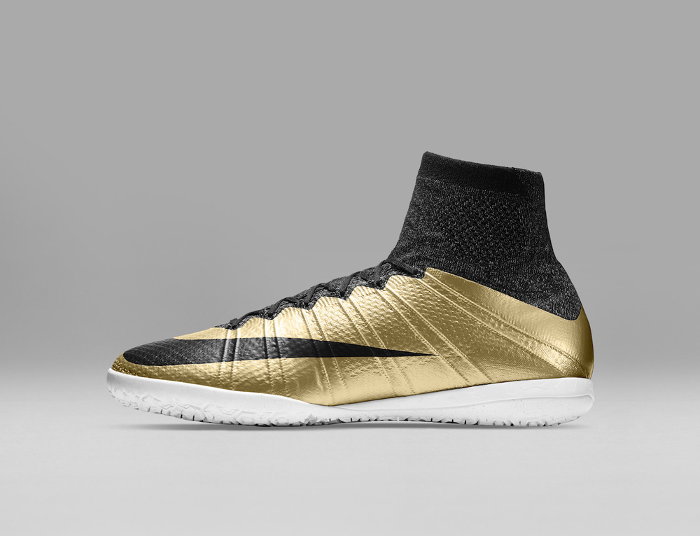 nike mercurialx gold black