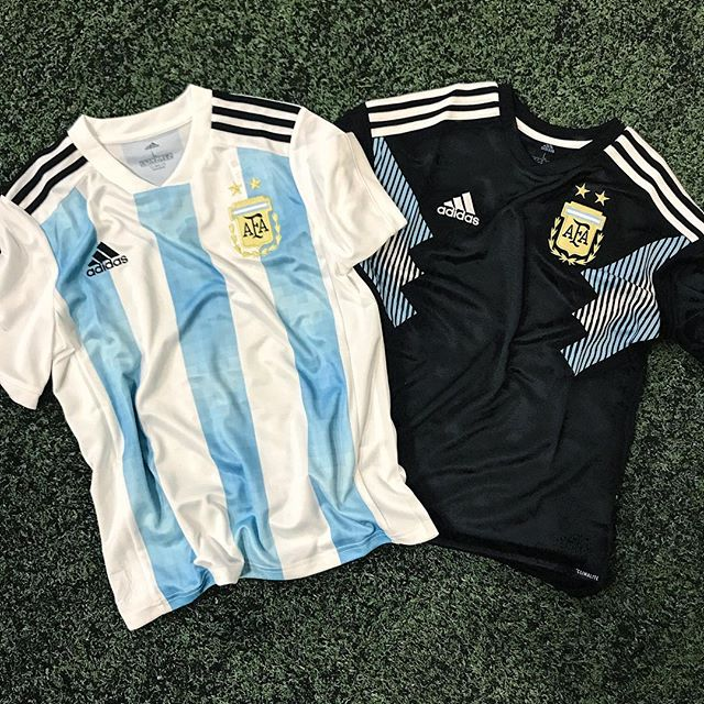 Come visit us at The Soccer Shop to get your 2018 World Cup jerseys!! 🇦🇷 ⠀⠀ —⠀ #adidas #adidasfootball #worldcup #russia2018 #argentina #messi #fifa