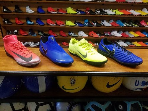 8c3c944aaa5 A few of the new additions to The Soccer Shop. Which one will you choose ·