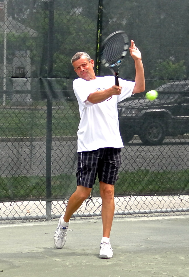 Director of Tennis, Larry Sack