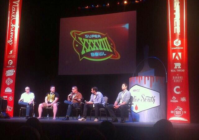 The 'Heavy Hitters' panel from 2014.