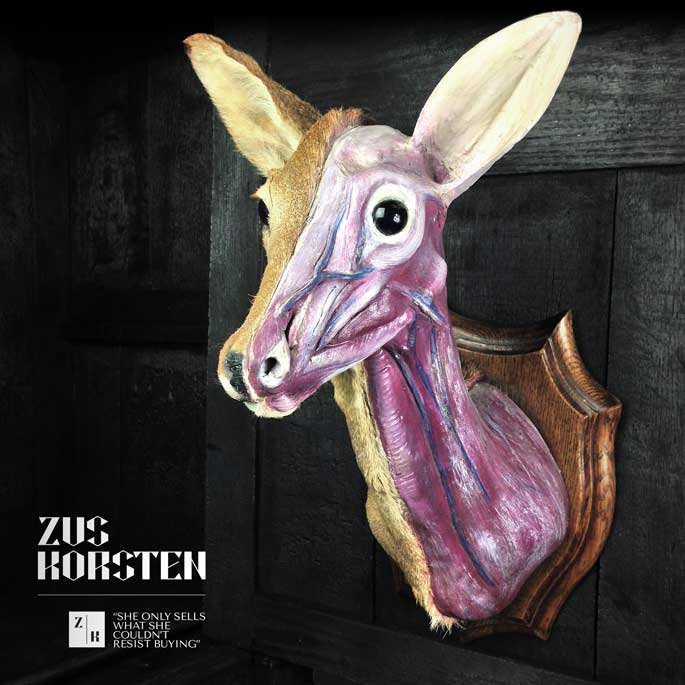 Anatomic Deer Mount — ZUS KORSTEN