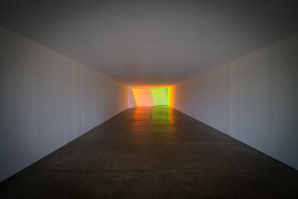Dan Flavin, Minimalist Light & Perspective Works, 1996.