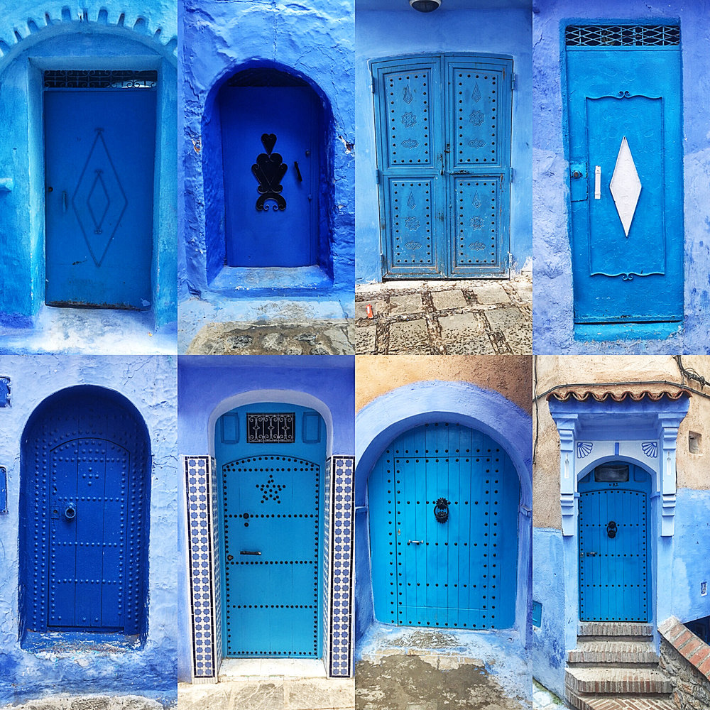 Moroccan style architecture is very unique. Every door seems to have a story.