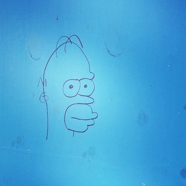 Homer spotted! #thesimpsons #doh