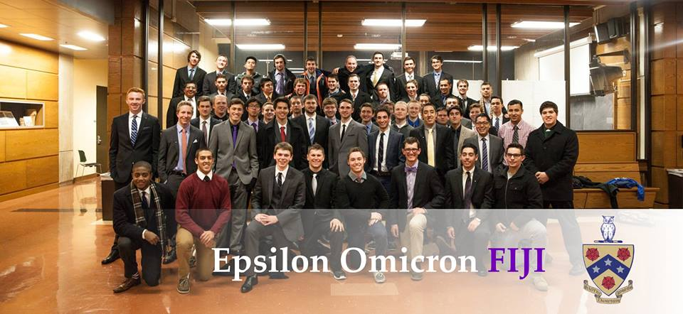 A picture taken after the initiation ceremony of the last addition to the Founding Fathers