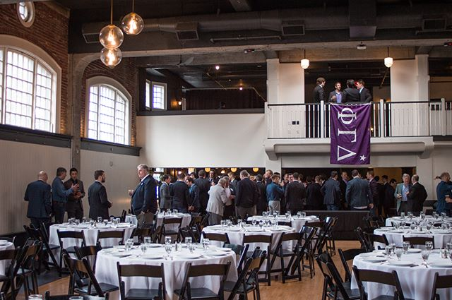 Thank you to all of the graduate and undergraduate brothers who came out to enjoy our 4th annual Pig Dinner! Can't wait to see you all out there again next year. #MightyProud