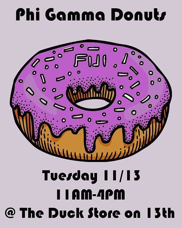 Come stop by tomorrow and grab a donut! 🍩🍩🍩