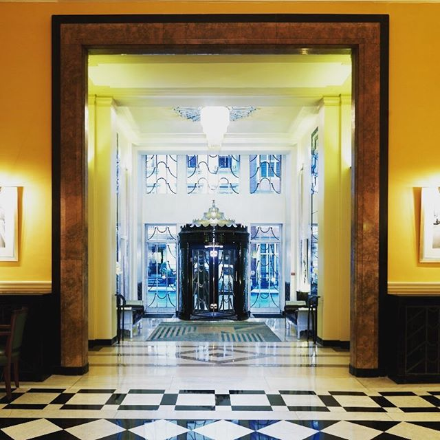Home away from home @claridgeshotel  #travel #explore #adventure #luxury #london #hotel #leather #accessories #artdeco #architecture
