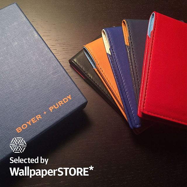 We are excited to announce that Boyer + Purdy is now available on @store.wallpaper www.store.wallpaper.com. Shop now. International shipping. #WallpaperSTORE  Instagram: @store.wallpaper Twitter:  @store_wallpaper Facebook: @Store.wallpaper  #leatheraccessories #design #MilanDesignWeek #luxury #leather #accessories #travel #explore #adventure