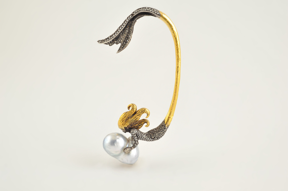 Sevan Bicakci Mermaid ear cuff
