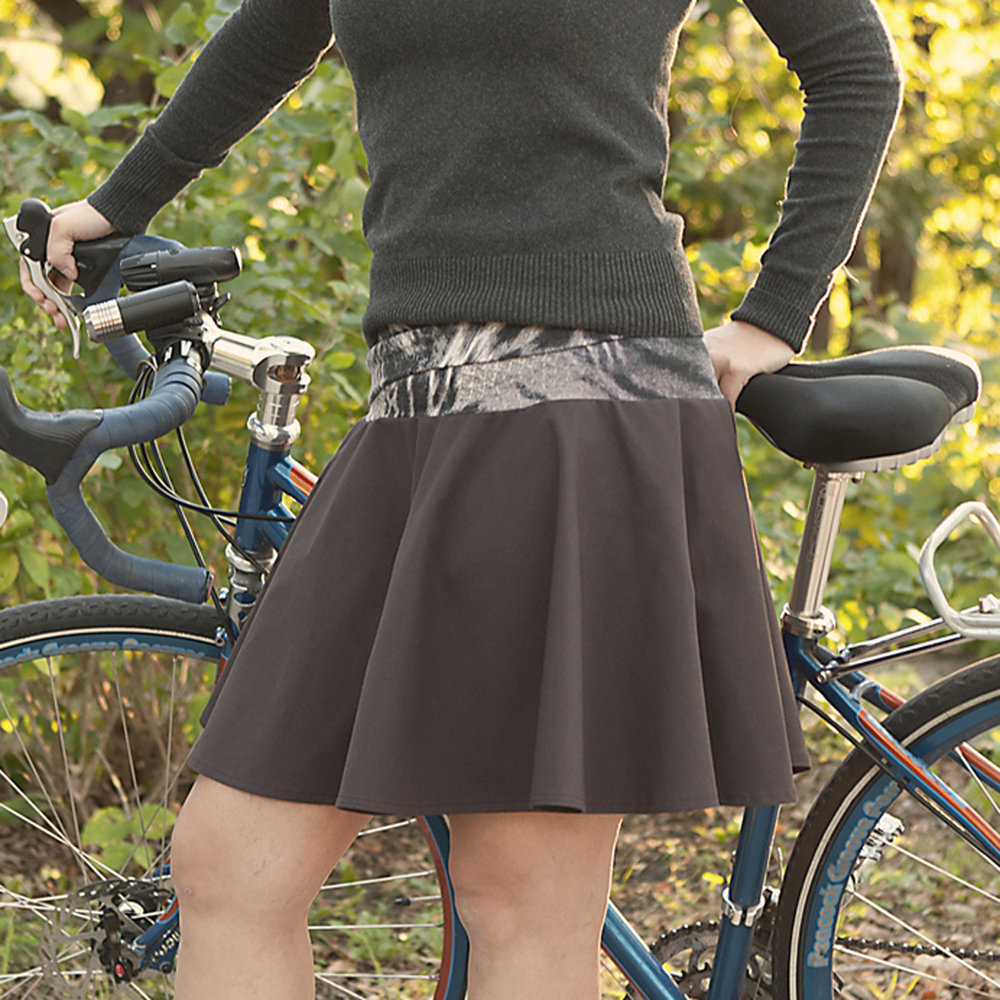 Aura skirt, shown here without the matching hip pack