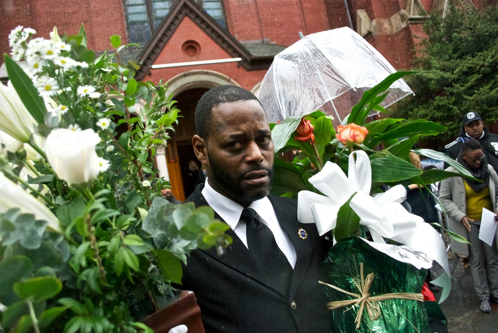 Funeral for Akai Gurley