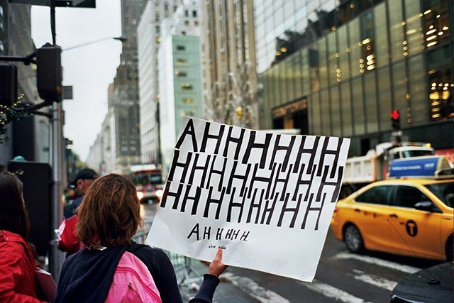 One year down... . #Film #FilmIsNotDead #ShootFilm #35mm #Kodak #Ektar #Ektar100 . #tbt #Protest #NotMyPresident #LoveTrumpsHate #Trump #DonaldTrump #ImWithHer #FuckTrump #FuckDonaldTrump #FuckPenceToo #MAGA #MakeAmericaGreatAgain #NYC #Manhattan #Midtown