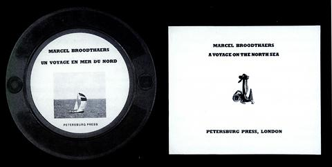Marcel Broodthaers, Un Voyage en Mer du Nord