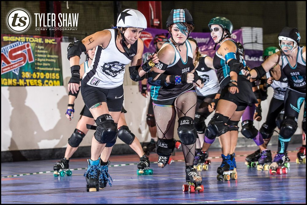 Choo choo, mothertruckers! Get ready for her caboose, it's number 1225, THE PAYNE TRAYNE! © Tyler Shaw Derby Photography