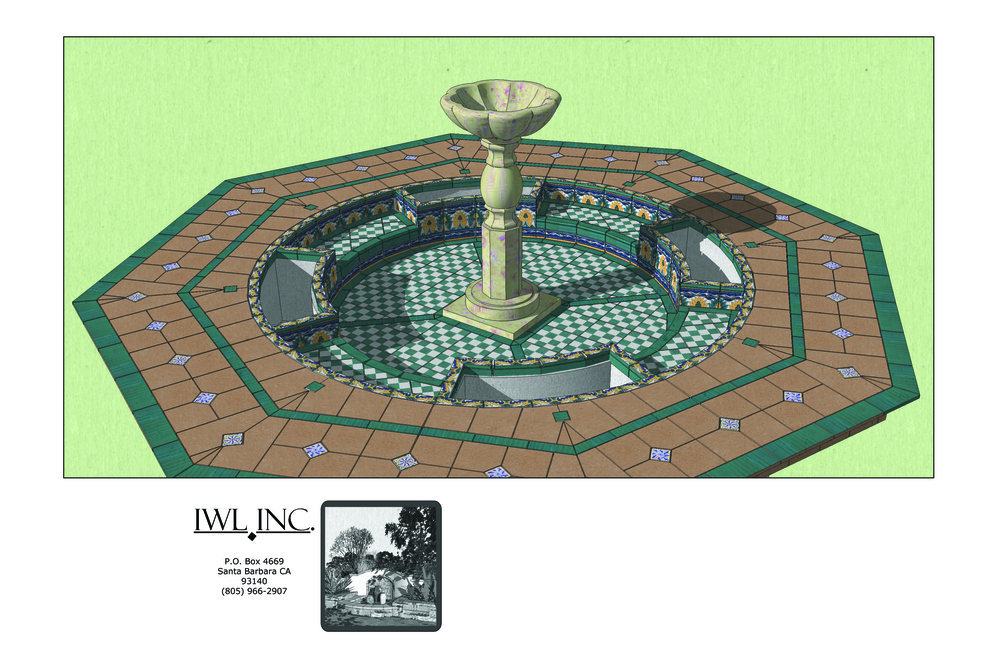 3D Model Fountain Design Proposal