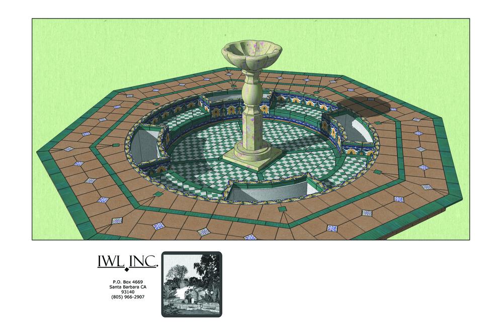 3D Model Fountain Design Proposal