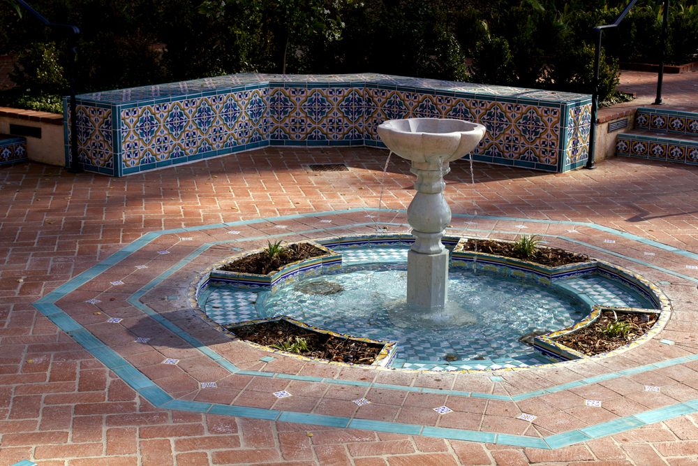 Completed fountain Design Photo