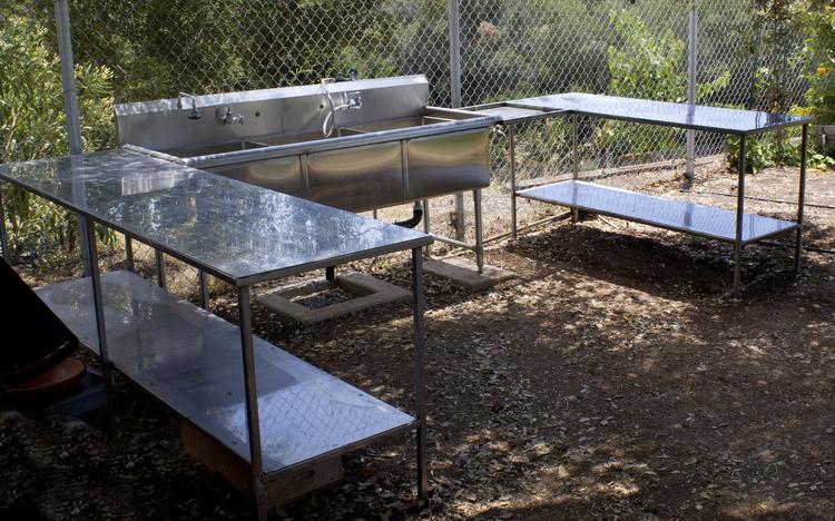 Trinity Gardens Community Garden Outdoor Sink Project Arroyo