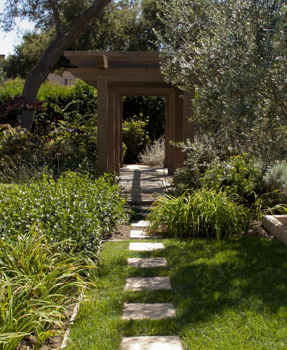 Arbor in the Garden