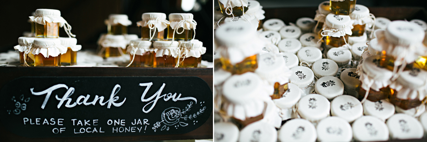 thank you gift honey lettering fort mil south carolina