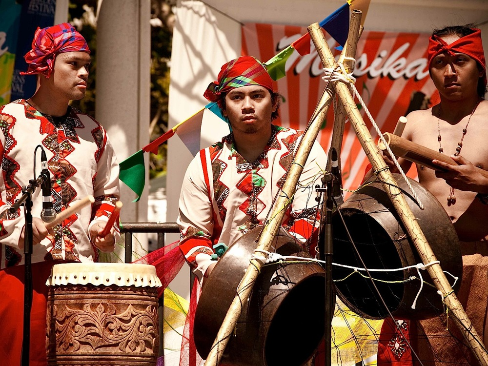 Pistahan ethnic drums