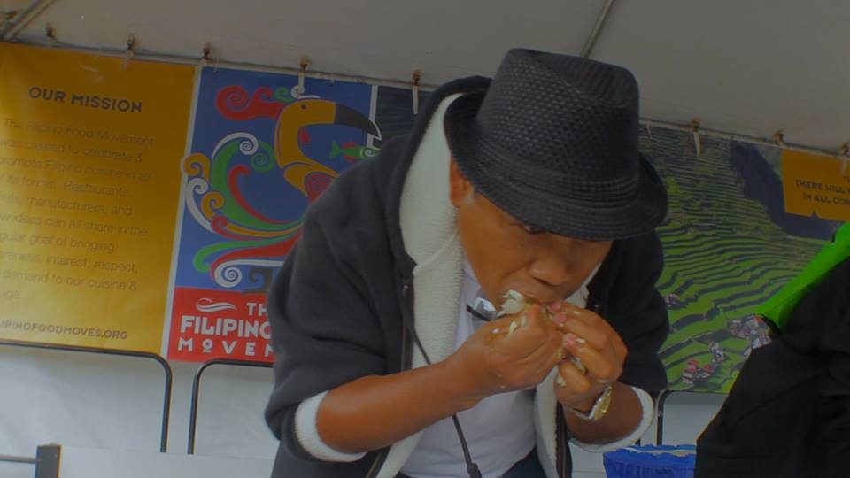 Balut eating contest (Photo courtesy of Ramar Foods International)