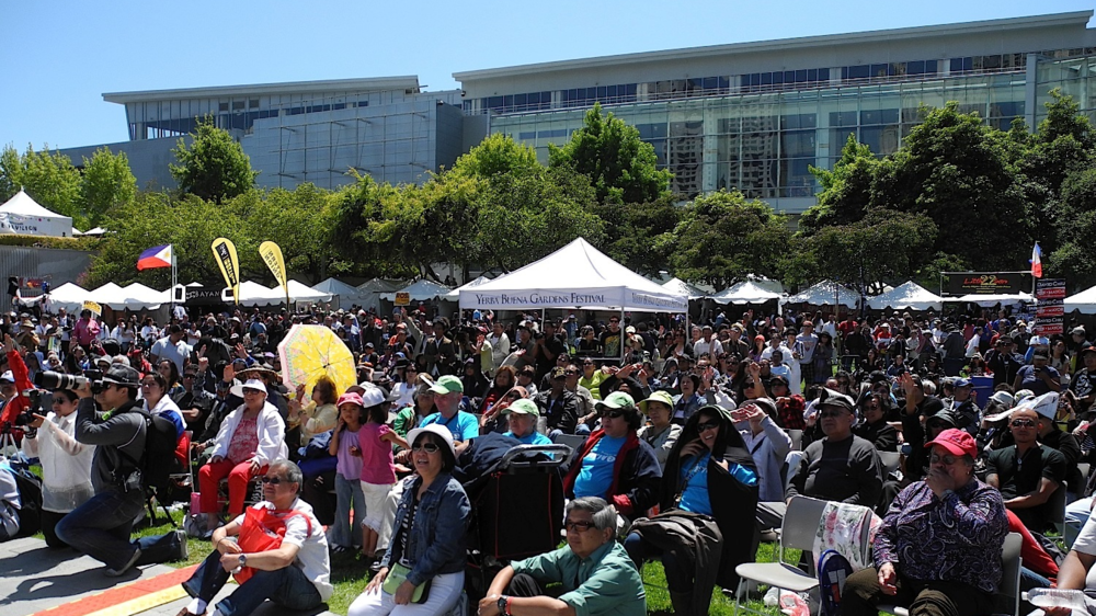 Crowds at Pistahan Festival at Yerba Buena Gardens (Photo: FAAE)