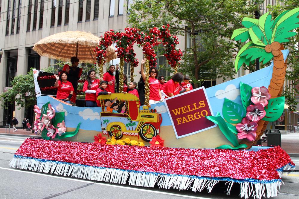 Wells Fargo float