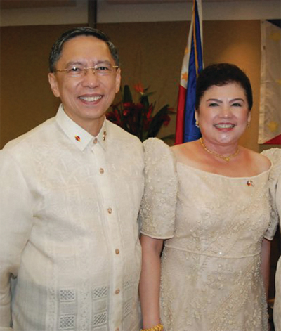 Consul General Marciano Paynor and Tessie Paynor (2010)