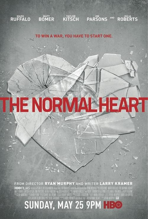 I am very excited that a new generation finally will see The Normal Heart this weekend, thanks to HBO.