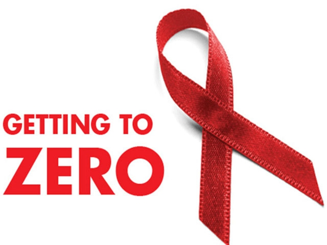 One of the many images bringing back the Red Ribbon for awareness to end AIDS