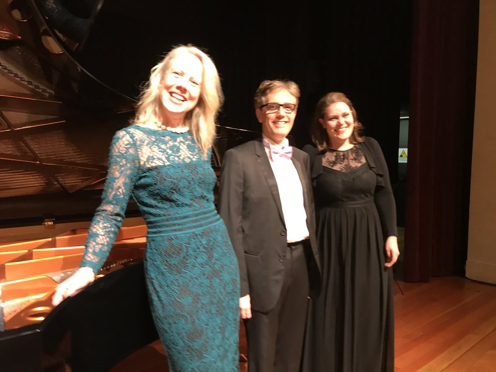 faculty post concert photo