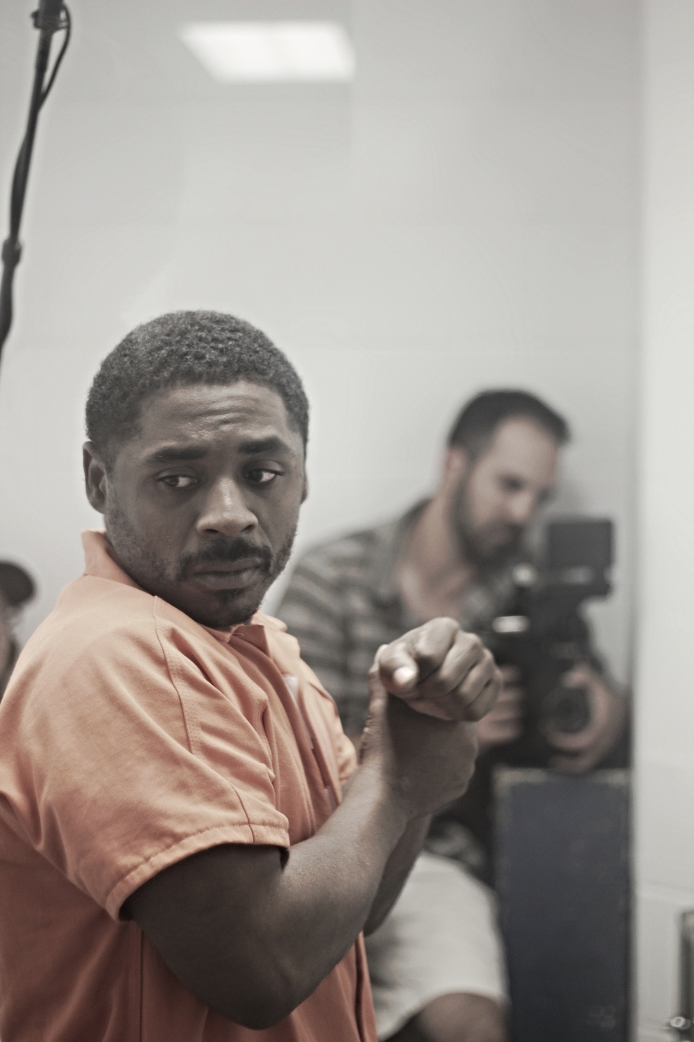 "William Brown, a former solitary inmate, stars in ""The wHOLE."""