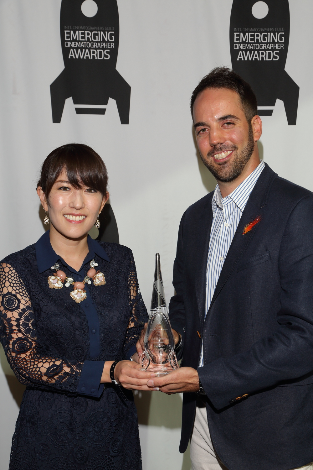 "With ""The Other Side"" director Akiko Izumitani"