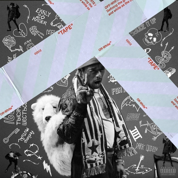 LIL UZI VERT    luv is rage 2   Album art