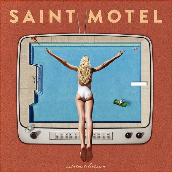 saint motel    saintmotelevision   album art